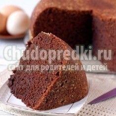 Готуємо шоколадний кекс в мультиварці