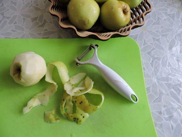 Яблука очистити від шкірки і насіння їжа, своїми руками, зроби сам