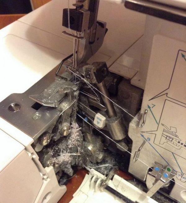 Як почистити швейну машинку. (Майстер клас)