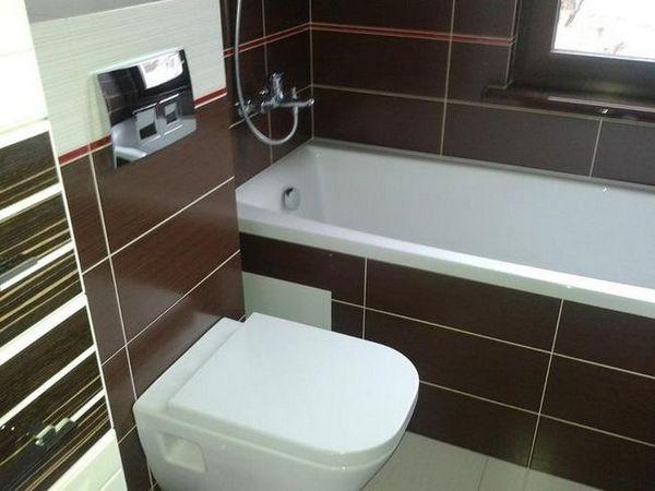 Маленька ванна кімната в хрущовці - секрети великого дизайну