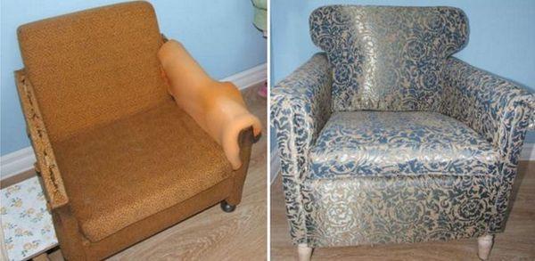 Не квапся викидати стару совєтських меблі! Подивися який вийшов шедевр